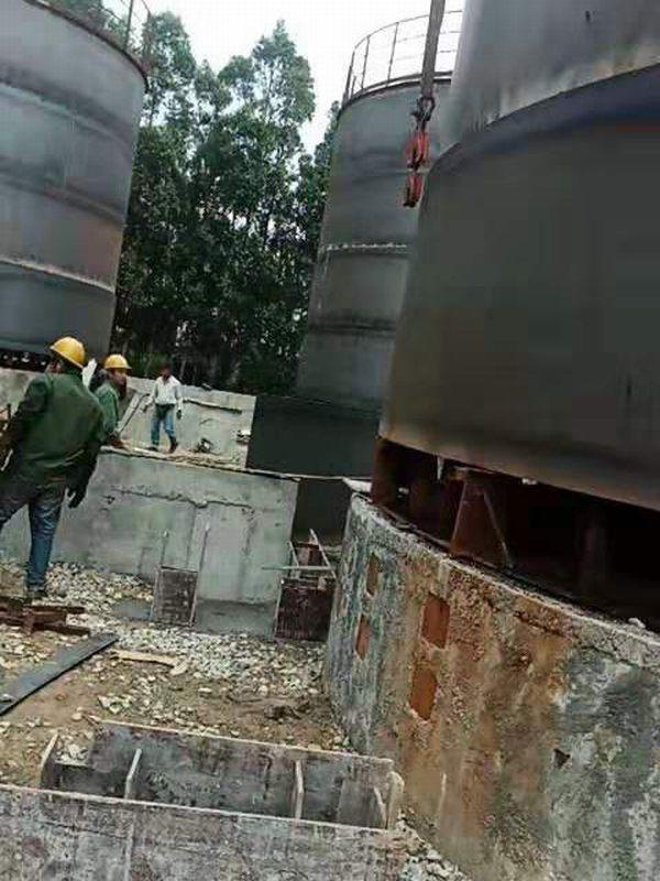 福建福清油库建设